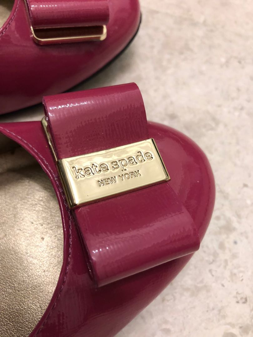 286757362b7a Authentic Kate Spade flats in pink