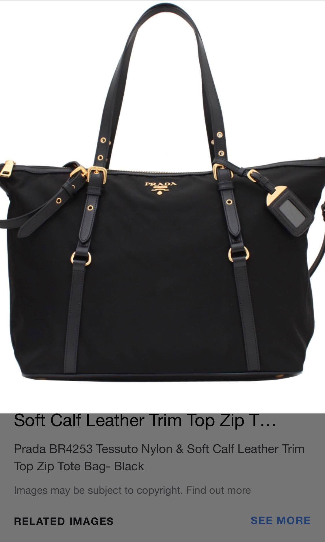 c15e45687e60 Authentic Prada Bag