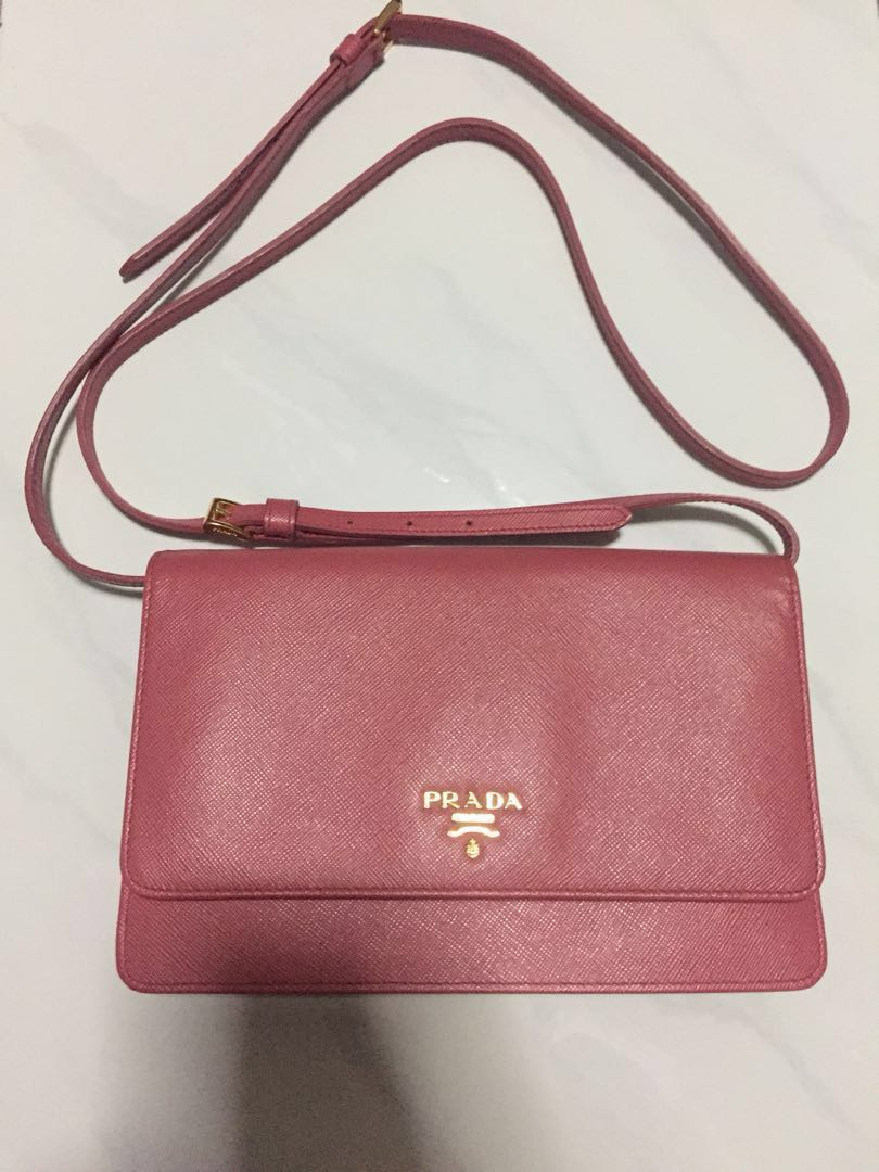 2e6f2f86502a62 Authentic Prada sling / clutch bag, Luxury, Bags & Wallets, Sling ...