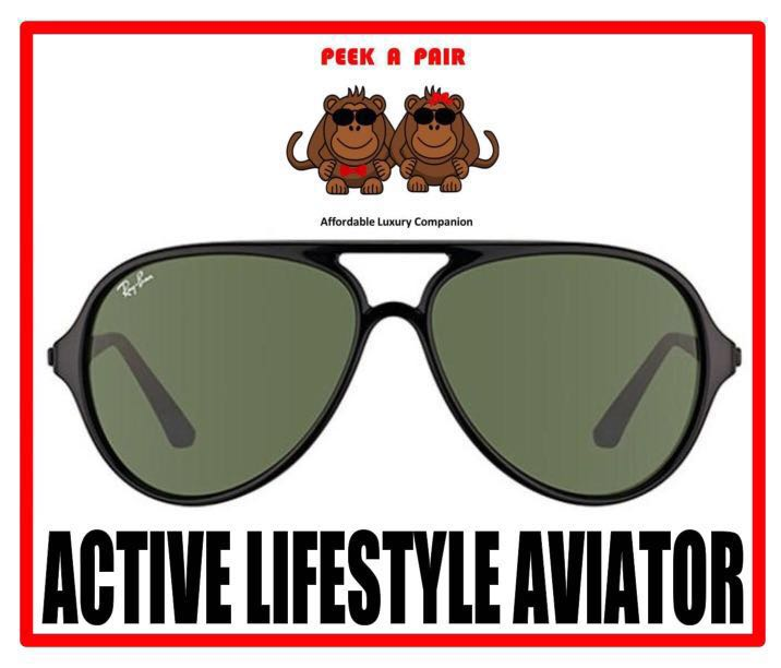 cc16988c11 Authentic Ray Ban Active Lifestyle Aviator Sunglasses [RB4235F ...