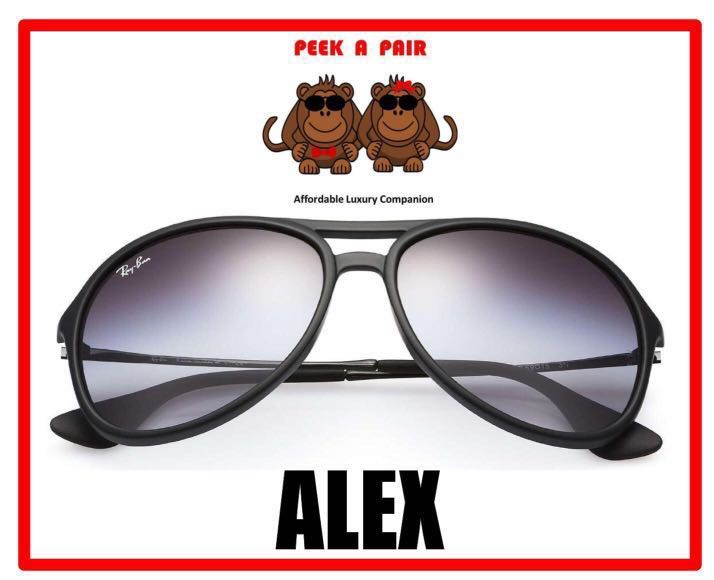 78a010a79b Authentic Ray Ban Alex Sunglasses  RB4201F