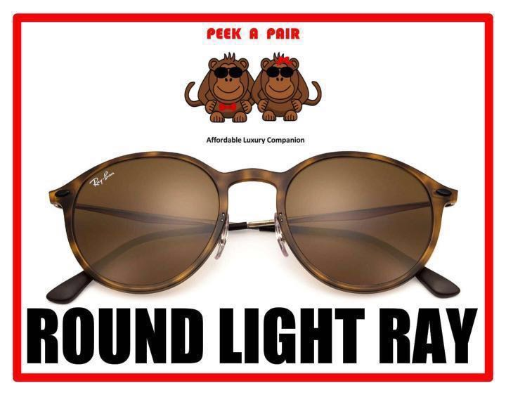 10f8bb2227dff Authentic Ray Ban Round Light Ray Sunglasses  RB4224