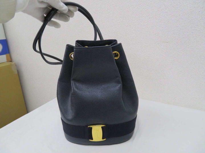 dfac9852a9a8 Authentic vintage Salvatore Ferragamo backpack bag