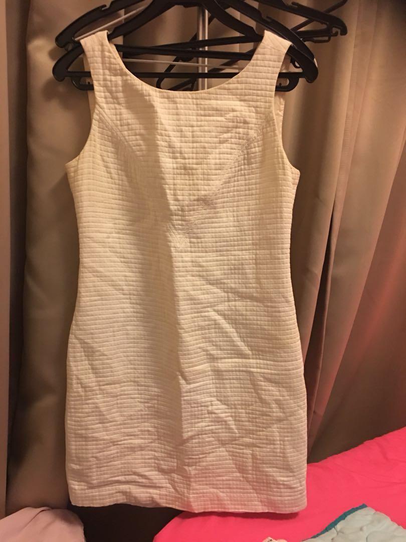 f15808e5bfa8b Banana Republic Mad Men - White Sheath Dress