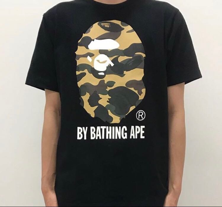 1246ce43 BAPE 1ST CAMO BY BATHING APE TEE, Men's Fashion, Clothes, Tops on ...