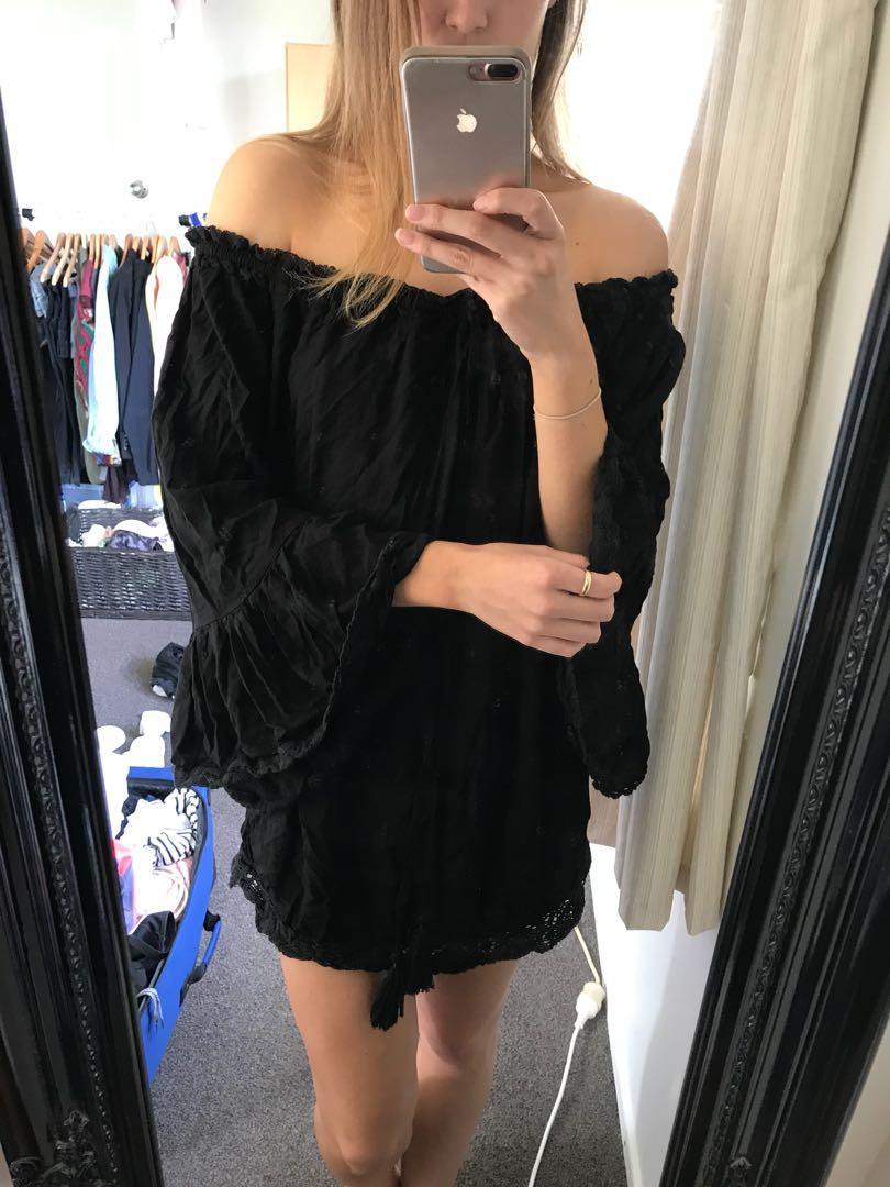 Black dress Lilly loo size M