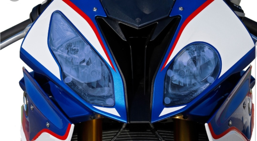 Bmw S1000rr 2015 2016 Headlight Protector Clear Motorbikes