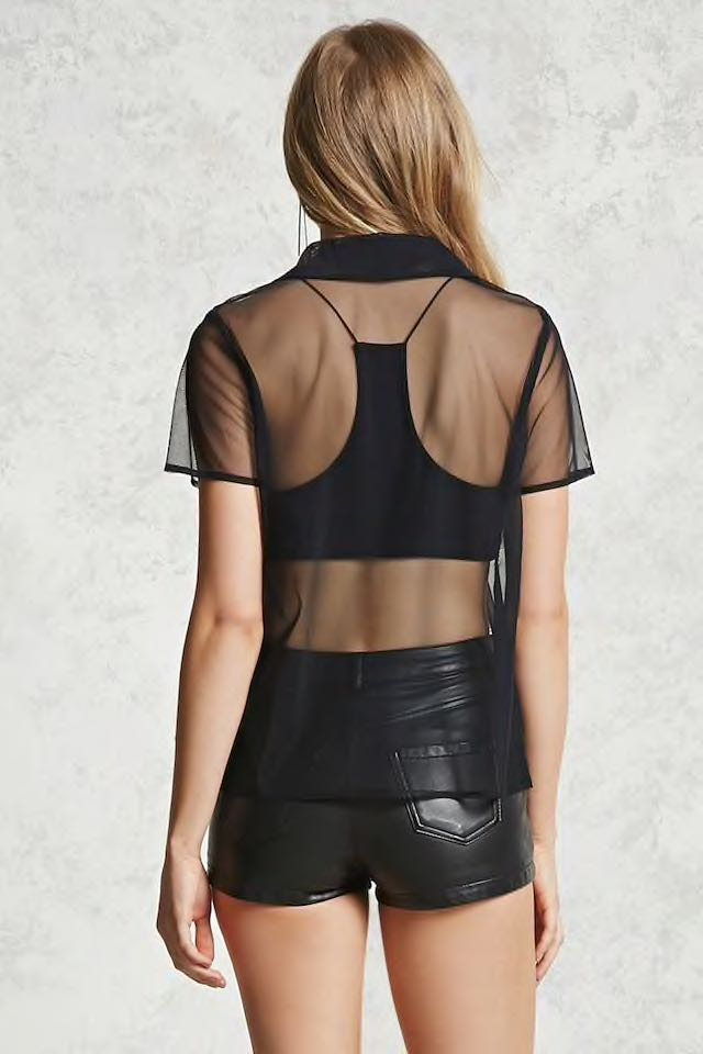 622a81554a053 Bn forever 21 mesh top plus size