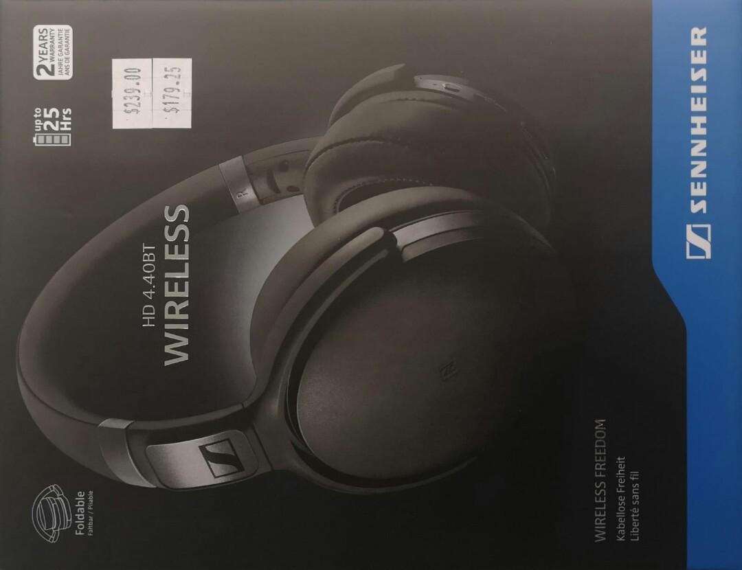 b79bc406aee Brand new Sennheiser HD 4.40BT wireless headphones, Electronics ...