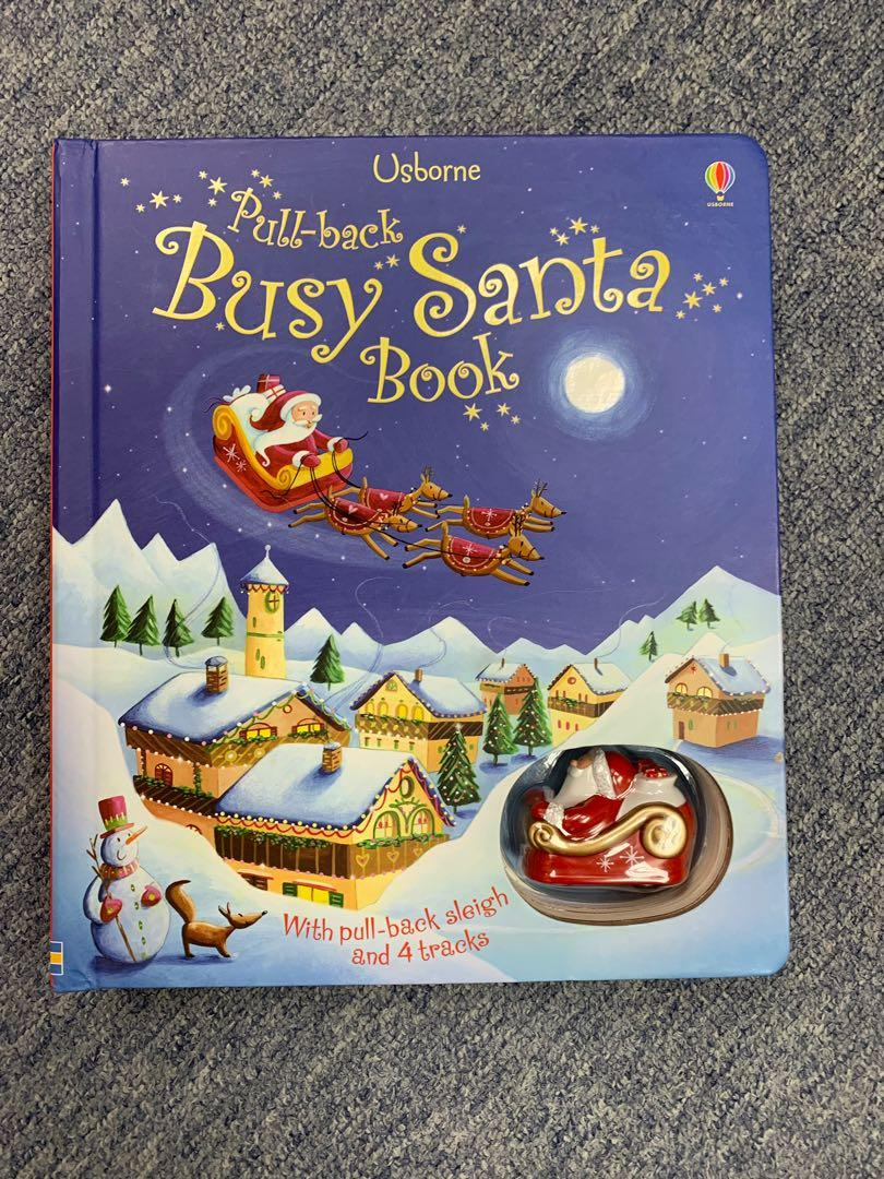 Busy Santa Book for Christmas- kids love it !!