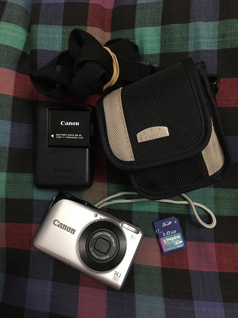 Canon Powershot A2200 Camera