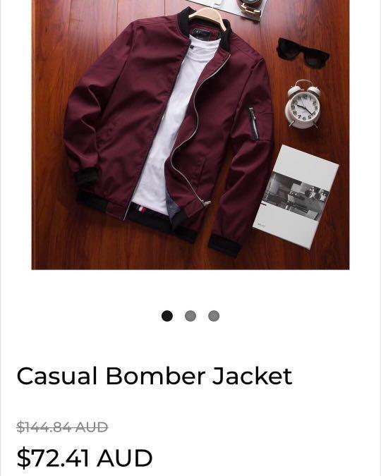 Casual Bomber Jacket