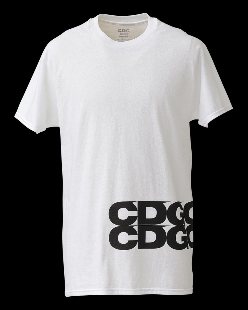 82721662 CDG x Hanes * pack of 3 design tee, Men's Fashion, Clothes, Tops on ...