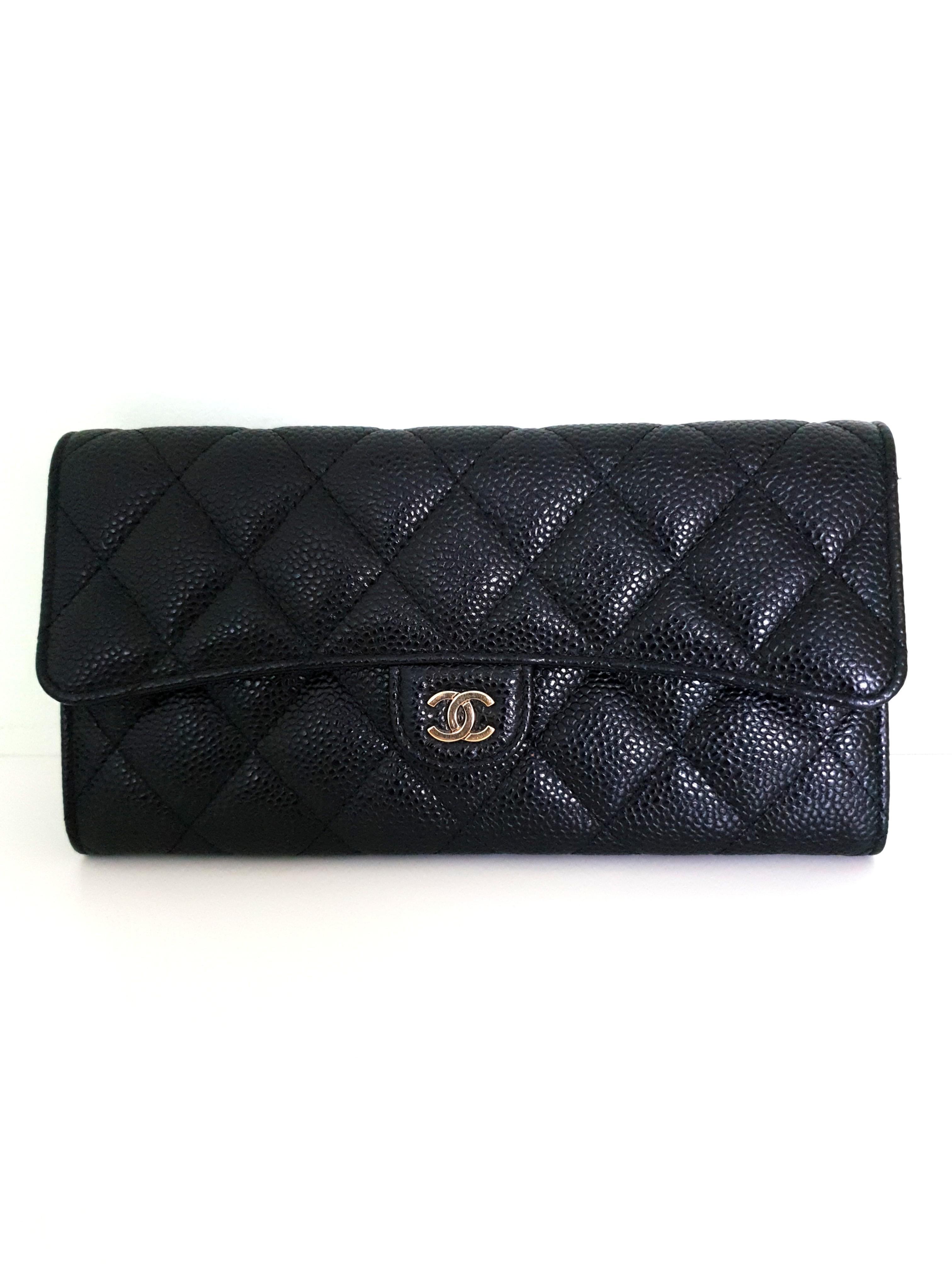 5d533b403ab6 Chanel Flap Wallet in GHW