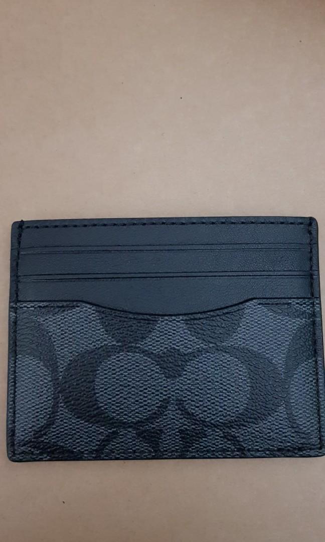size 40 dd2dc 0ed57 Coach Card Case