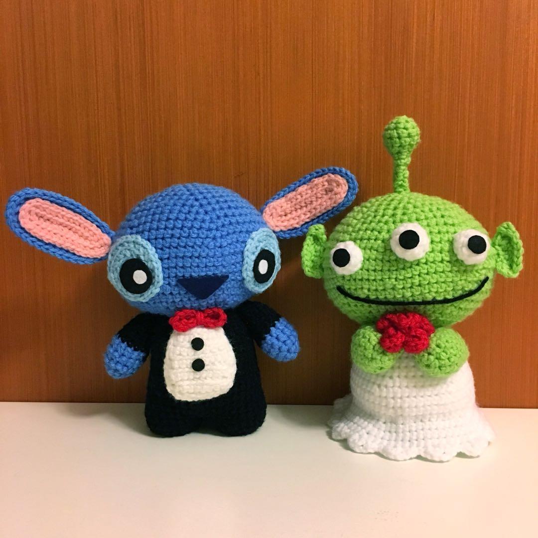 Wedding amigurumi bride and groom dolls. (Free crochet pattern ... | 1080x1080