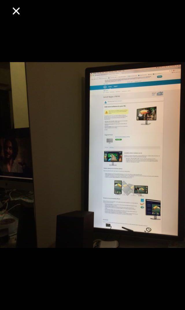 Dell 2815q 28inch 4k monitor