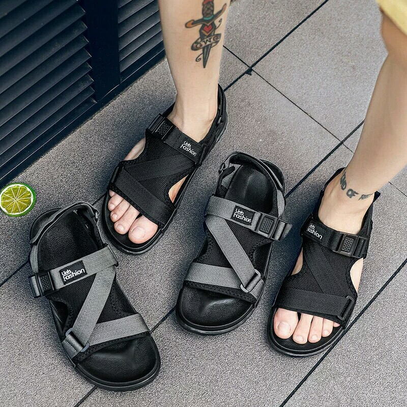 af09ec5e33b1b8 Fashion Man Beach Sandals 2018 Summer Gladiator Men s Outdoor Shoes ...