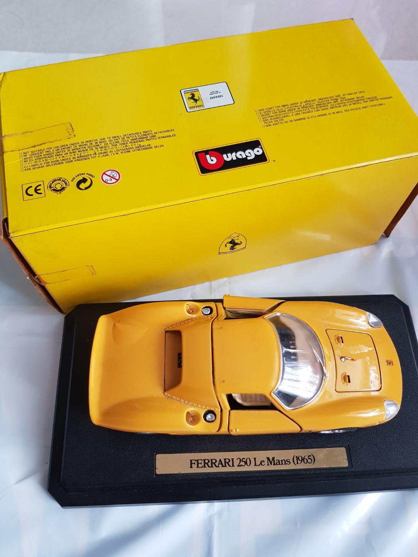 Ferrari 250 Le Mans 1965 Toys Games Bricks Figurines On