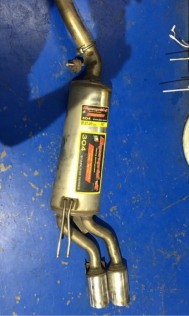 Fiat bravo t jet super sprint exhaust