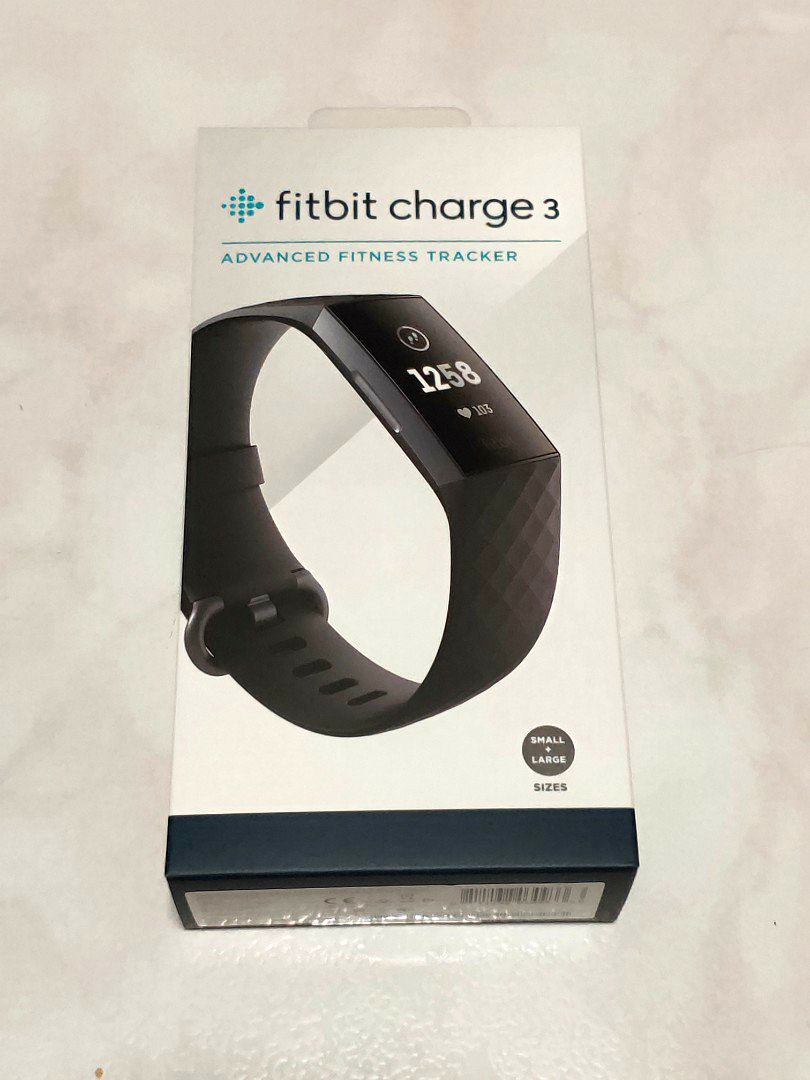 Fitbit Charge 3 - Black - 1 Year Local Warranty