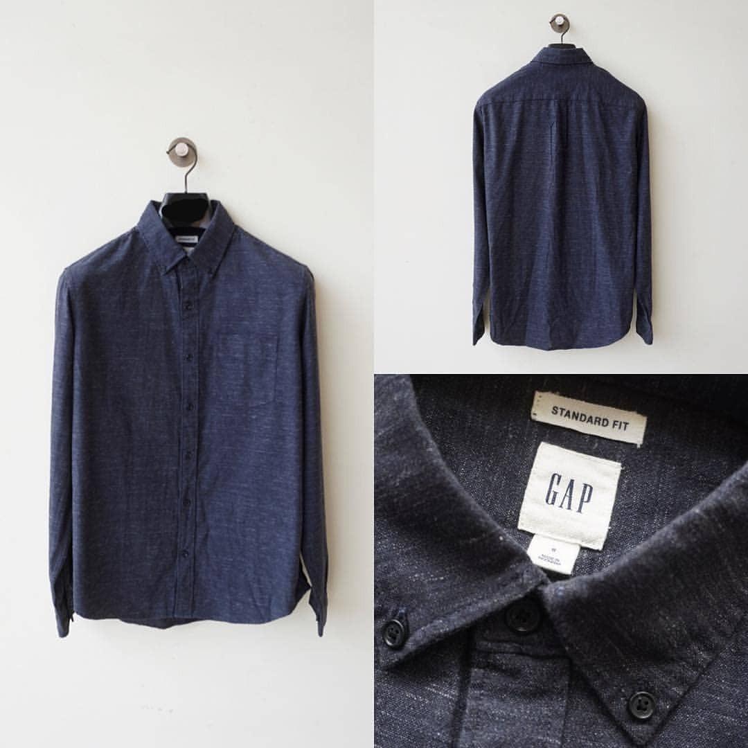 GAP Shirt / Kemeja GAP Black Mist XL Original