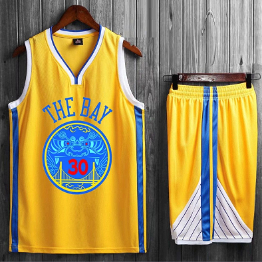 info for 3715e 67dd5 Golden State Warrior The Bay Jersey, Sports, Sports Apparel ...