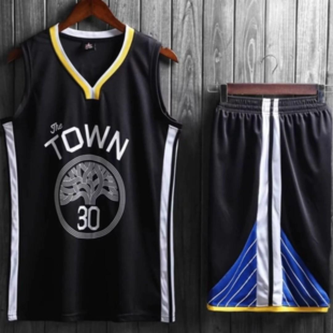 release date 2417f f7a13 GSW Curry The Town Jersey, Sports, Sports Apparel on Carousell