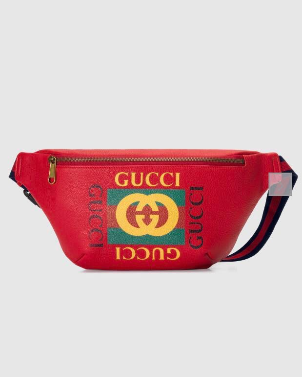 Gucci red belt bag bum bag waist bag