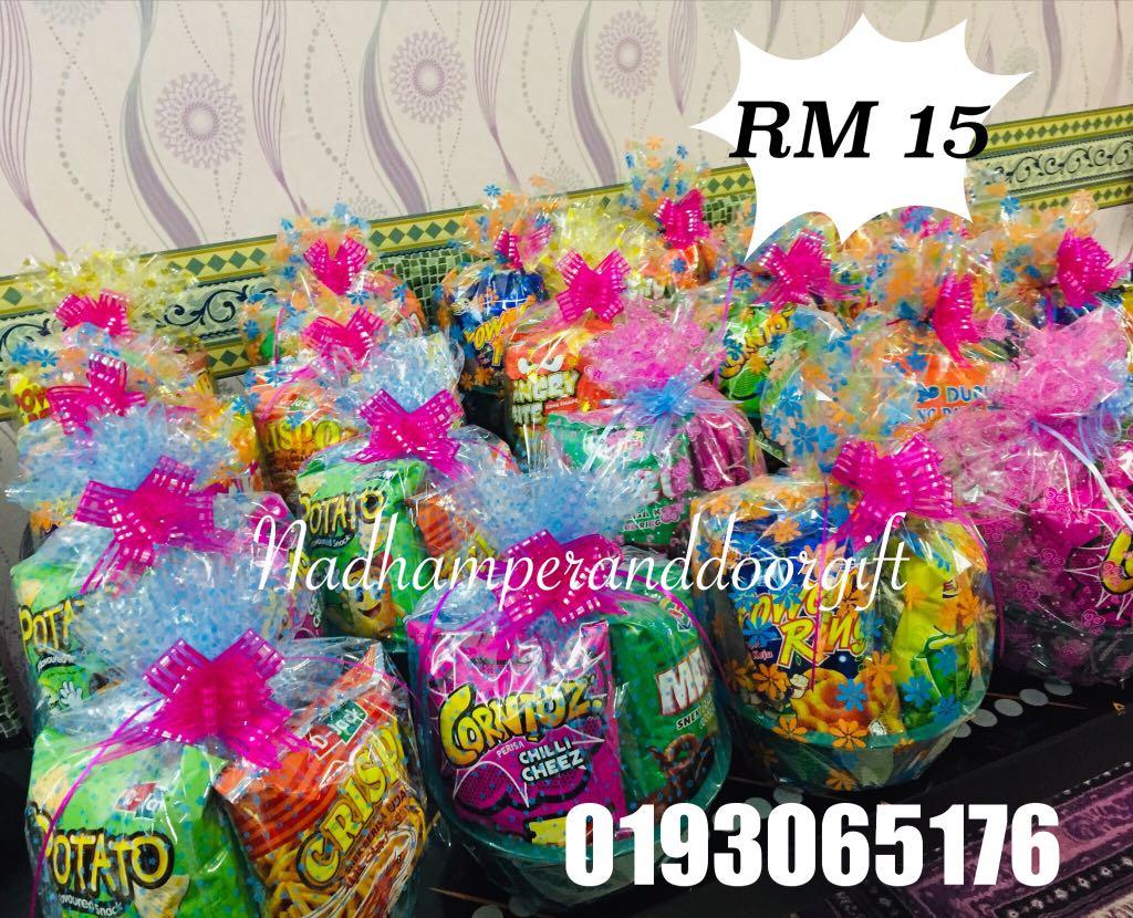 Hamper Murah Rm15 Food Drinks Packaged Snacks On Carousell