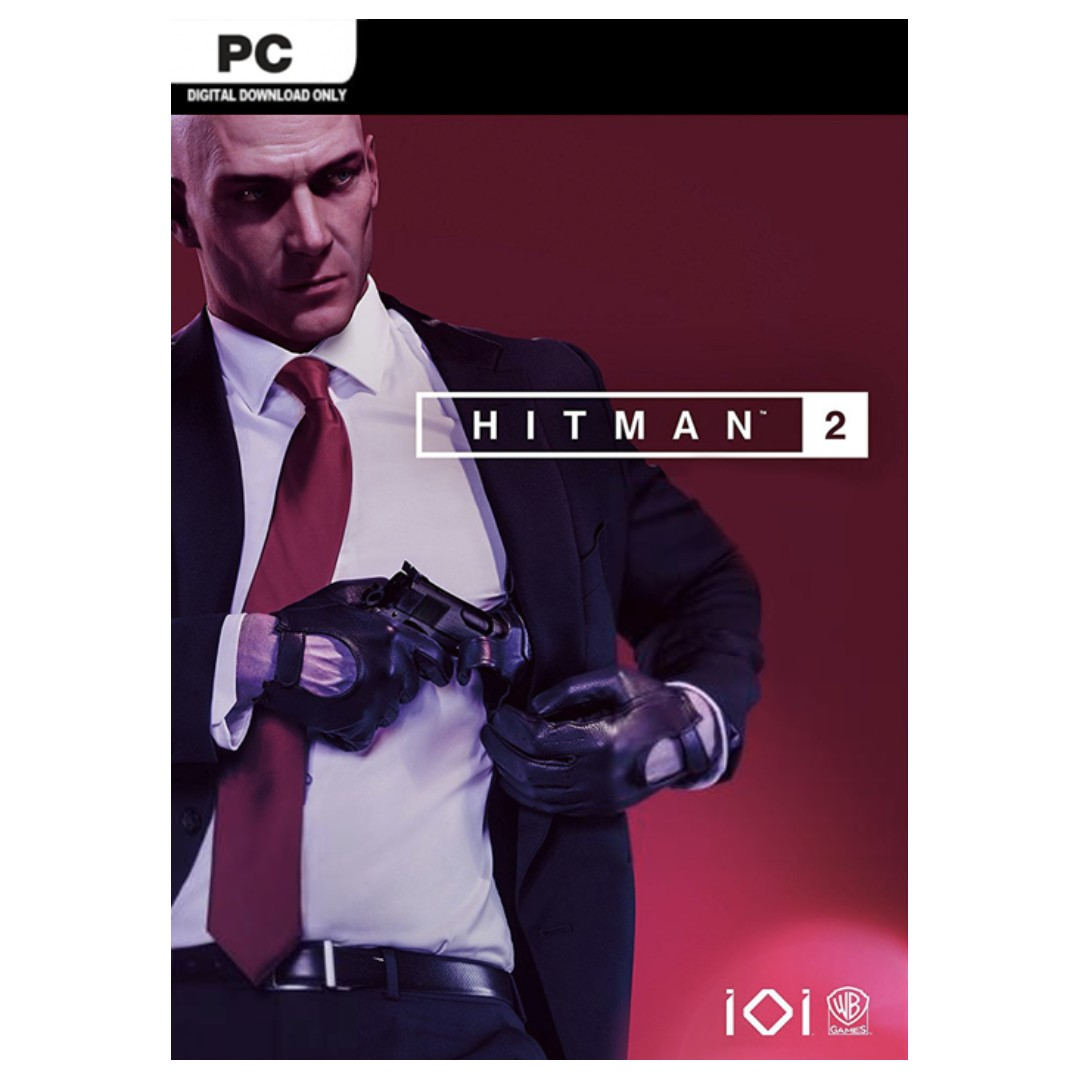 Hitman 2 PC + DLC Included (Steam Activation Key GLOBAL) // Limited Qty