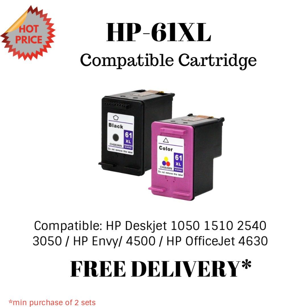 HP-61XL Ink Cartridge (Remanufactured), Electronics, Others