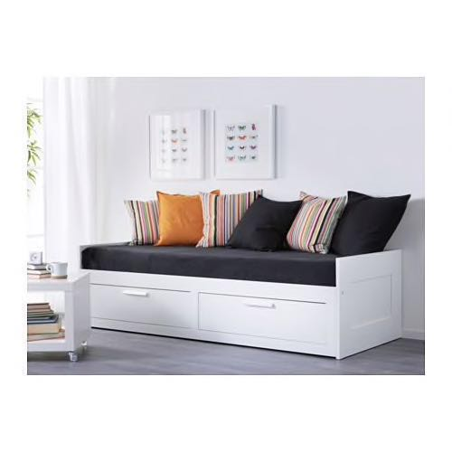 Terrific Ikea Brimnes Sofa Bed Daybed Single Double Drawers Squirreltailoven Fun Painted Chair Ideas Images Squirreltailovenorg