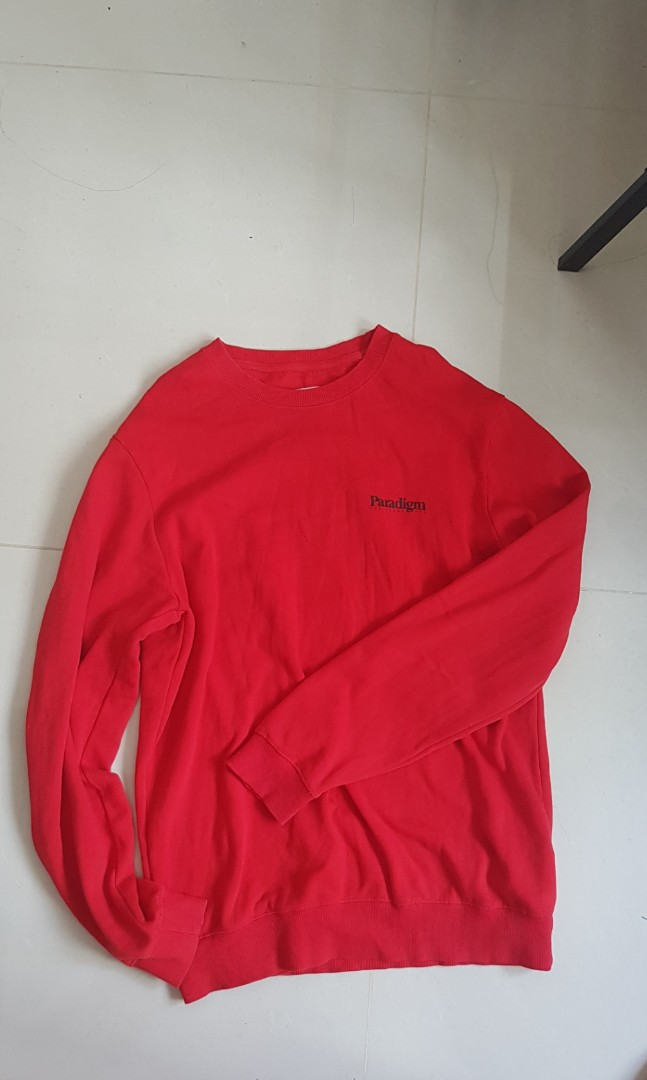 214a32497ce4c INSTOCKS Cotton on red sweater