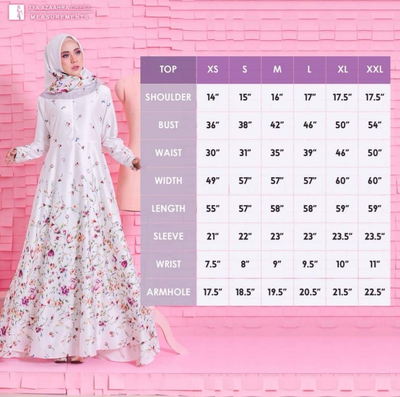 Jubahsouq tya azzahra dress Pastel pink