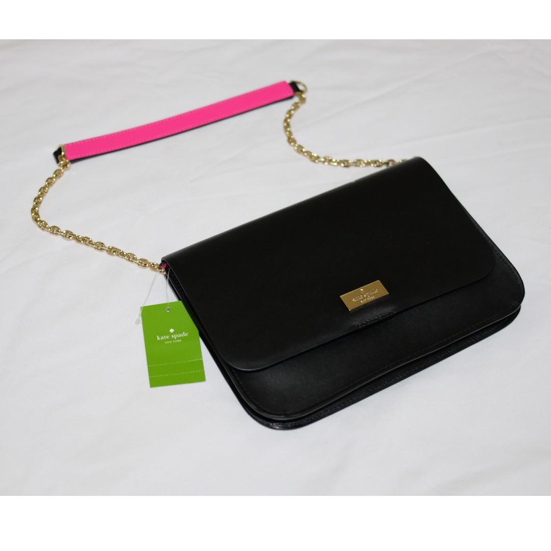 442ee23b4 Kate Spade Lizz Putman Drive Black/Rad Purse Bag, Women's Fashion ...