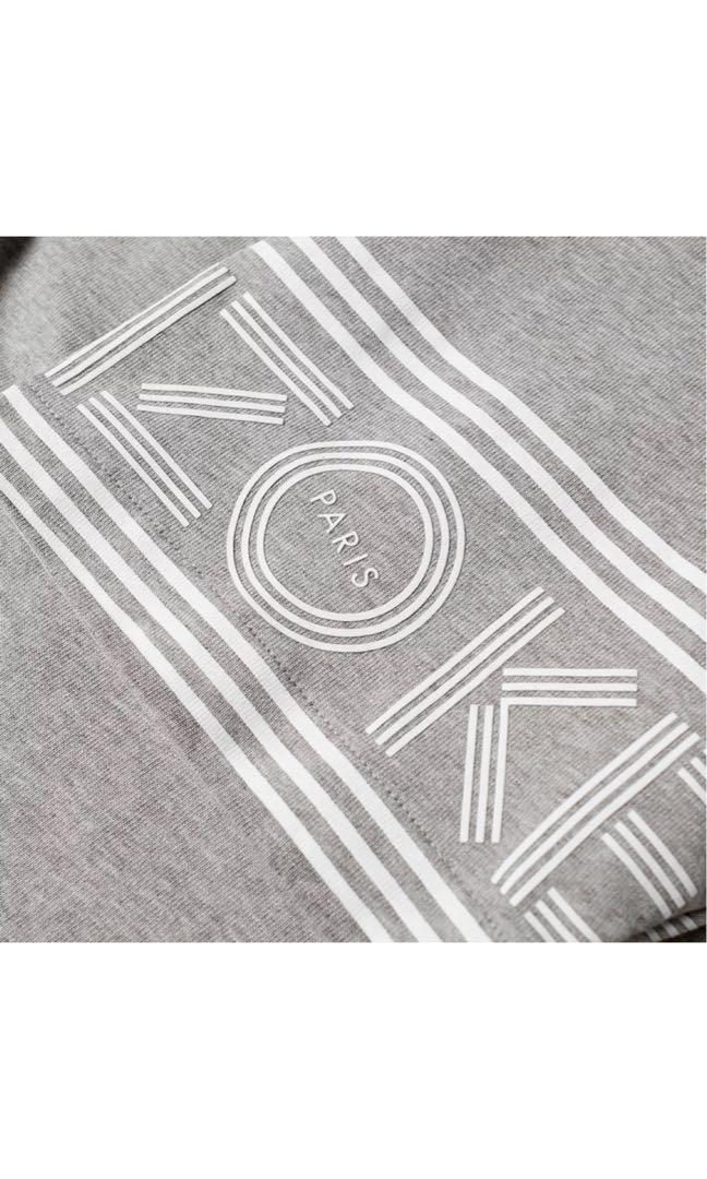 97145d20 Kenzo Paris Cuff Print Tee, Men's Fashion, Clothes, Tops on Carousell
