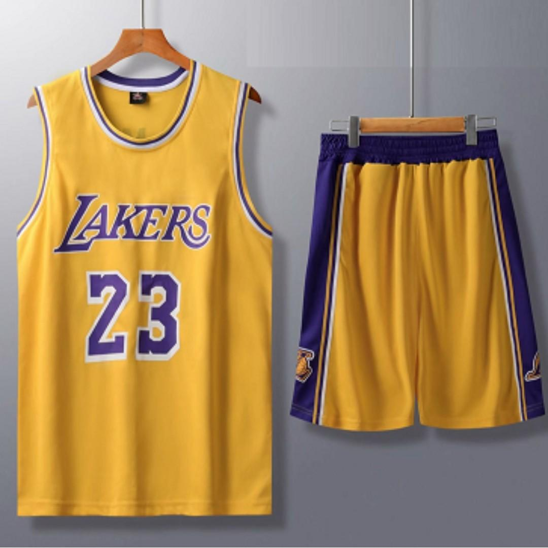 huge selection of 2ca76 7a743 Lakers Lebron Jersey, Sports, Sports Apparel on Carousell