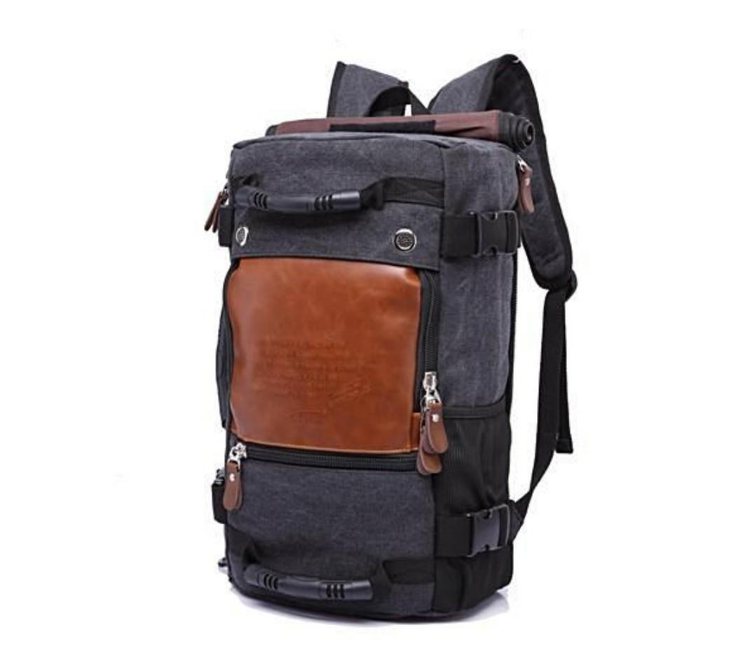 6b35b737f786 LATEST STYLISH ROLLTOP TRAVEL LARGE CAPACITY BACKPACK   SHOULDER BAG ...