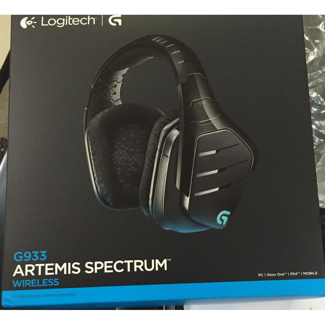 🆕Logitech G933 Artemis Spectrum Wireless RGB 7 1 Dolby and