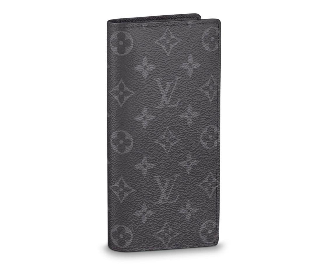 40d8e909fa4c LV Louis Vuitton Brazza Wallet in Eclipse Monogram