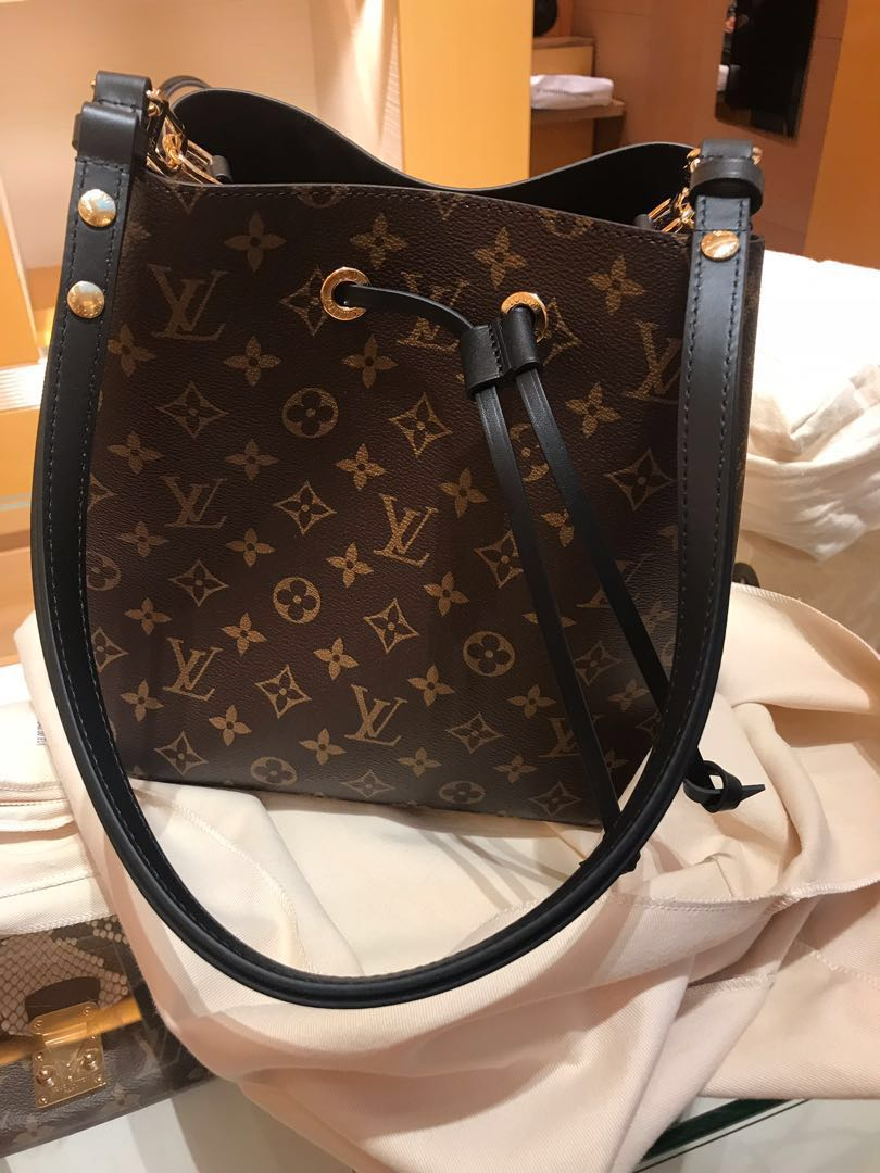 a72bfff02fbe LV LOUIS VUITTON Monogram Neo Noe Bag 100% AUTHENTIC+BRAND NEW ...