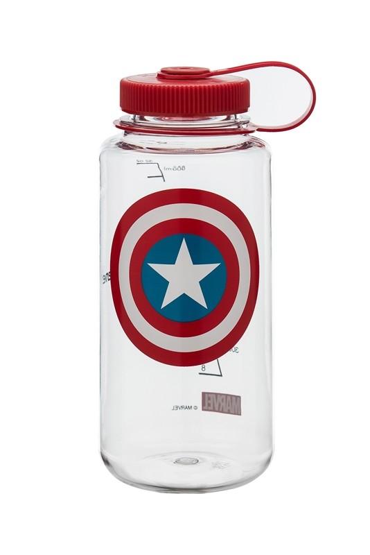43d8527c32 Nalgene Captain America Marvel Water Bottle, Toys & Games, Bricks ...