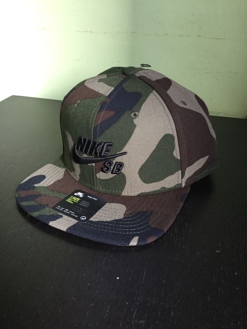 82573882ba2 New  Nike SB Cap in camo