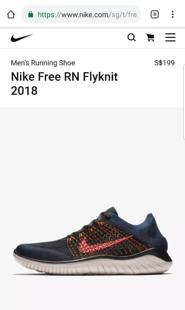 Nike free rn flyknit 2018 + Free Nike Roche