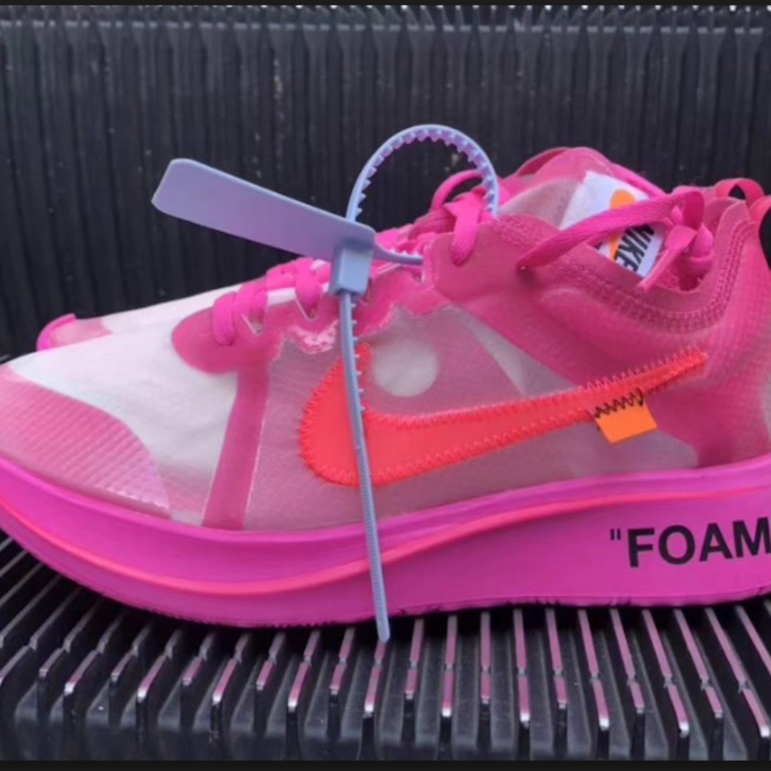 90ff242b7699 Nike Off White Zoom Fly Tulip   Pink