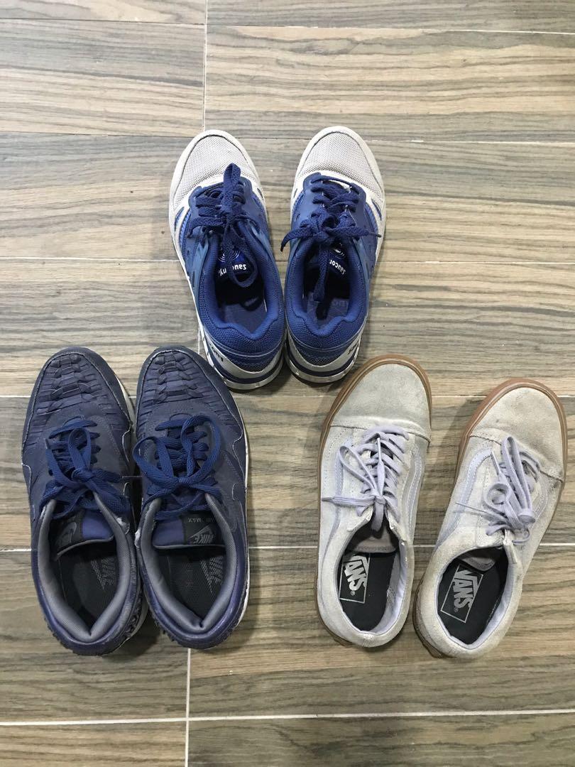 b5d0b6fc06 Nike, VANS, Saucony running shoes