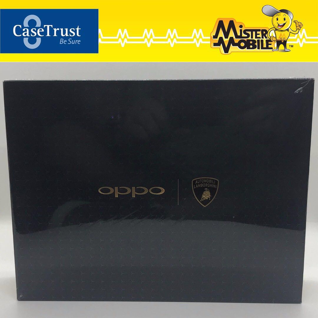 Oppo Find X Lamborghini 512gb Black Brand New Mobile Phones