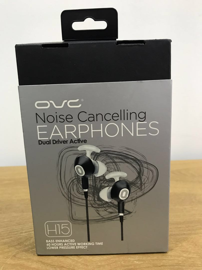 eb6a45e94b8 OVC Noise Cancelling Earphones, Electronics, Others on Carousell