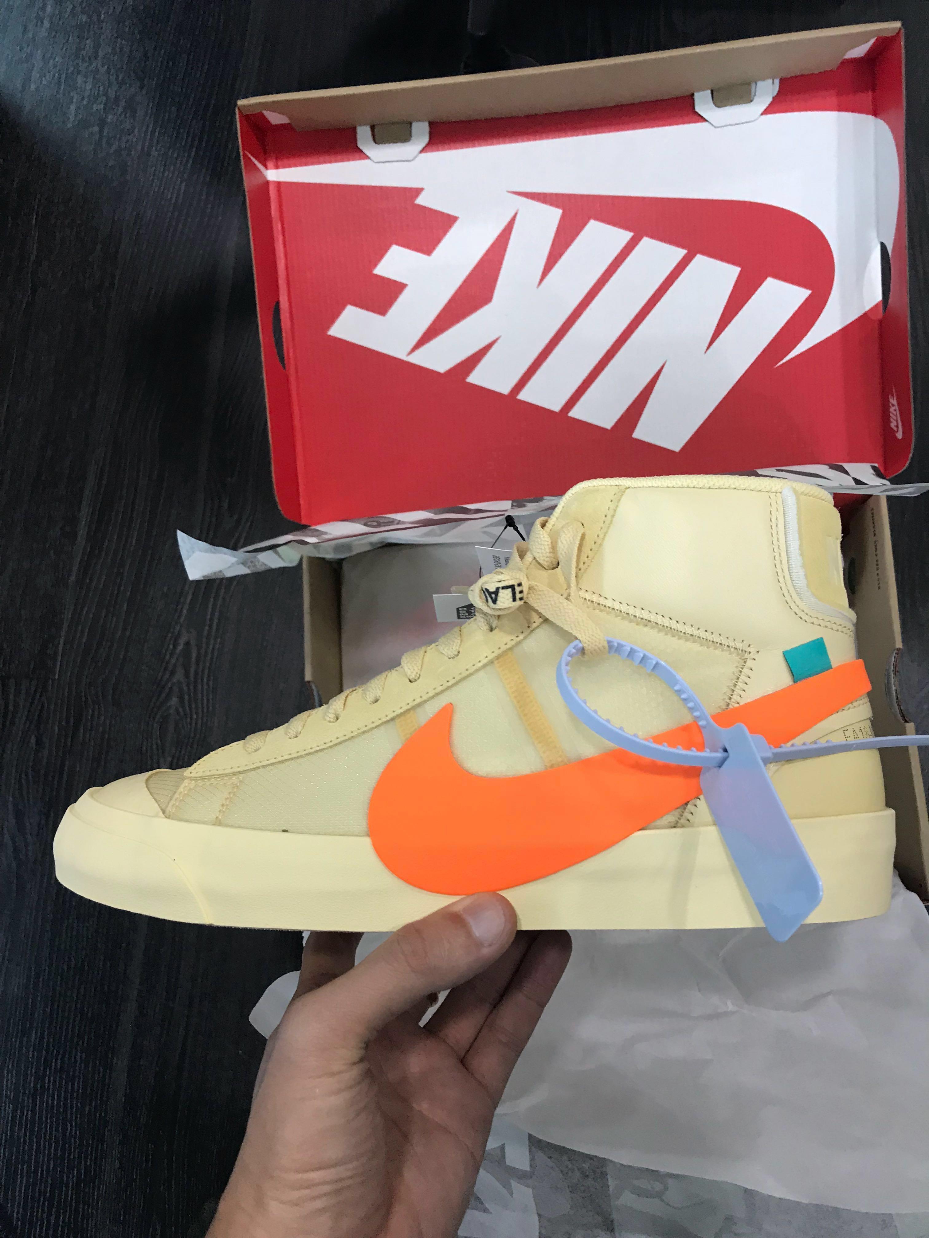 e30638f63867 OW x Nike blazer mid US10.5